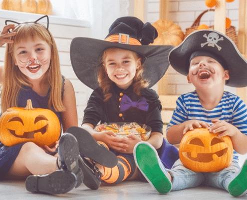 halloween y seguridad infantil