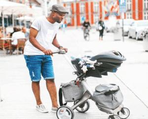 pasear al bebé con seguridad