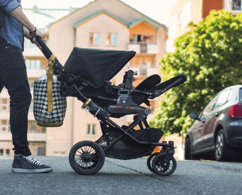 seguridad sillas de paseo de bebe