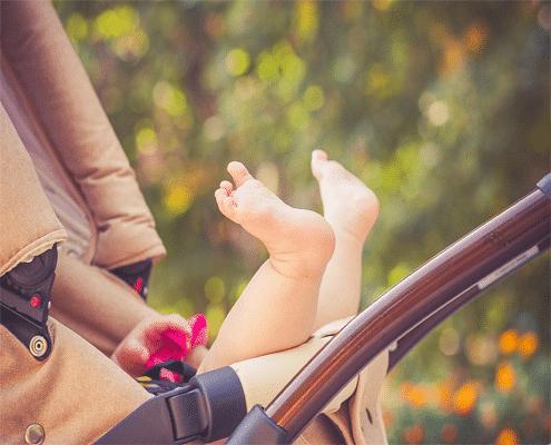 seguridad sillas de bebé