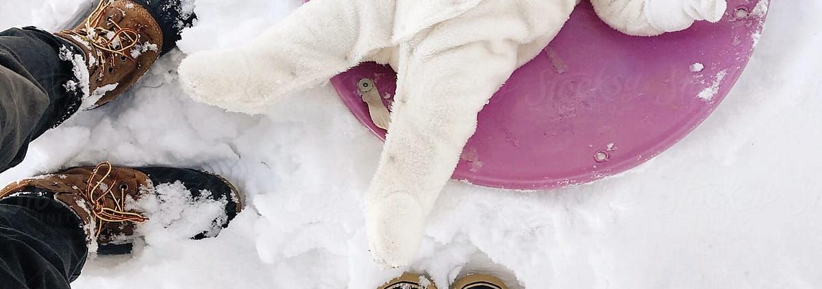 seguridad infantil en la nieve
